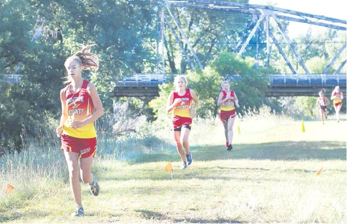 girls team takes first boys second at home cross country meet glendive ranger review boys second at home cross country meet